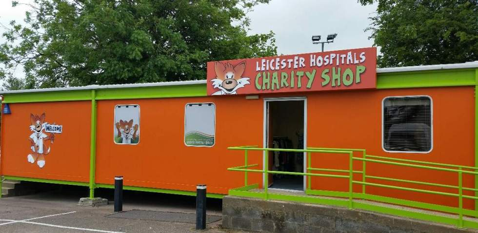 Leicester General Hospital charity shop