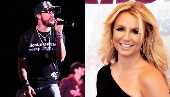 AJ McLean and Britney Spears