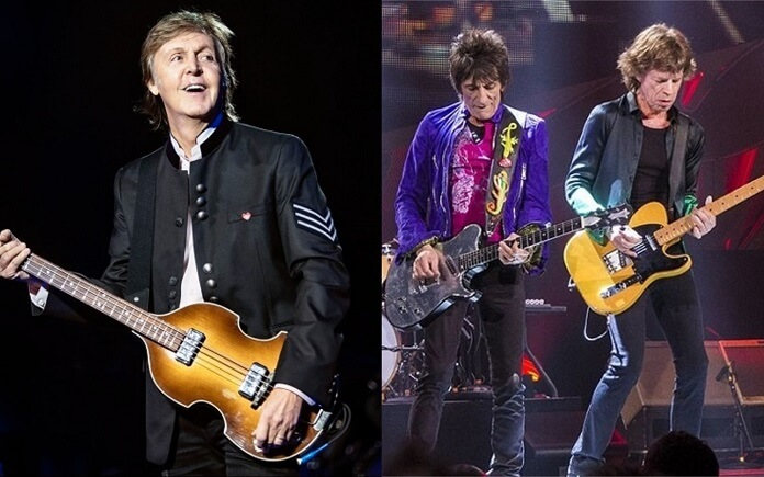 Paul McCartney chama The Rolling Stones de