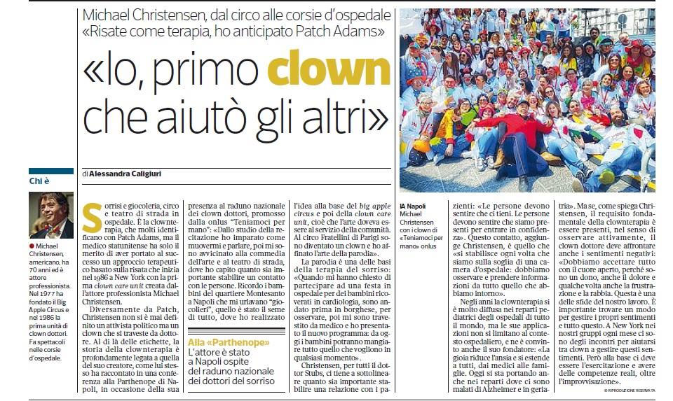 Io, primo clown