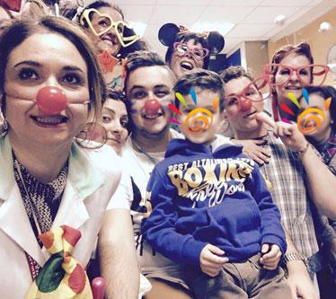 La clownterapia è una medicina potente per il bambino
