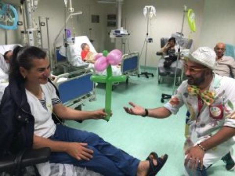 Clownterapia Reparto Oncologico Ospedale Pagani di Tortora