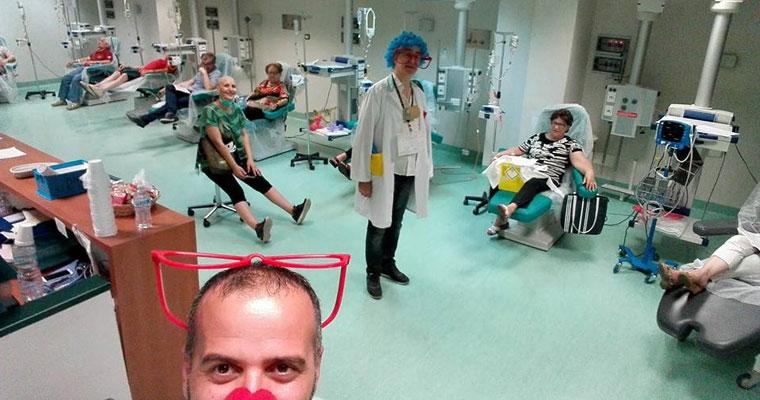 Clownterapia: diffondi il sorriso con il passaparola