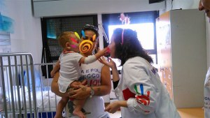 Giornata di Clownterapia Ospedale Pertini