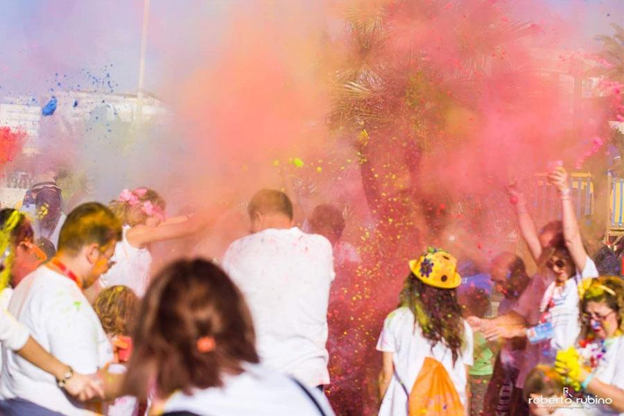 La Festa dei colori Napoli 2018