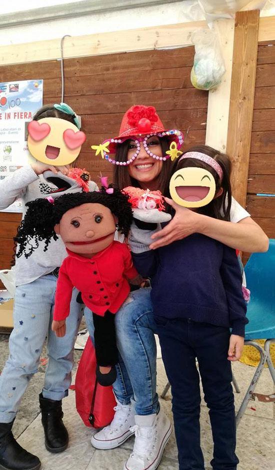 Donatella De Fraia alla Festa del Sorriso