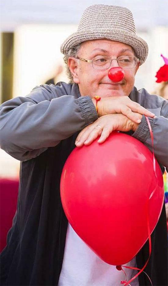Rodolfo Matto alla festa del sorriso