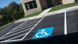 ADA Handicap Stalls