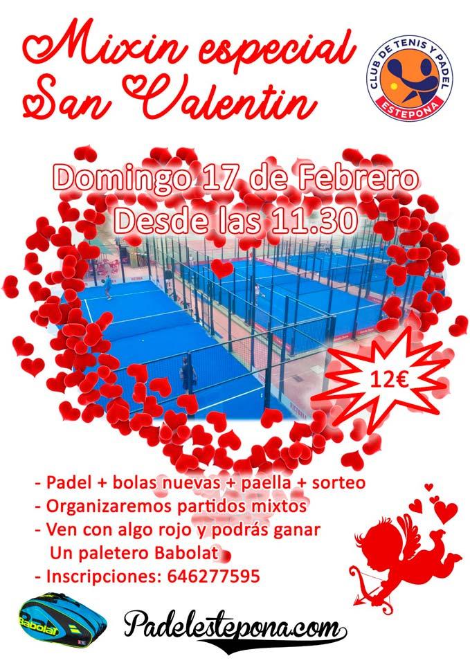 Evento San Valentín en Estepona. Mix in especial