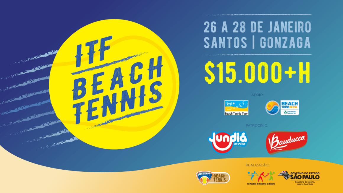 ITF DE BEACH TENNIS – PROGRAMAÇÃO OFICIAL