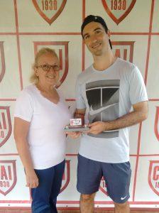 Indiano Open - Cat 35MA Vice-campeão Heitor Carvalhana Madeira