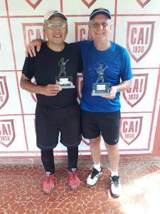 Indiano Open - Cat. 60MA - Campeão Jose Pedro Daza Mariscal e Vice-campeão Arthur Capelasso Jr