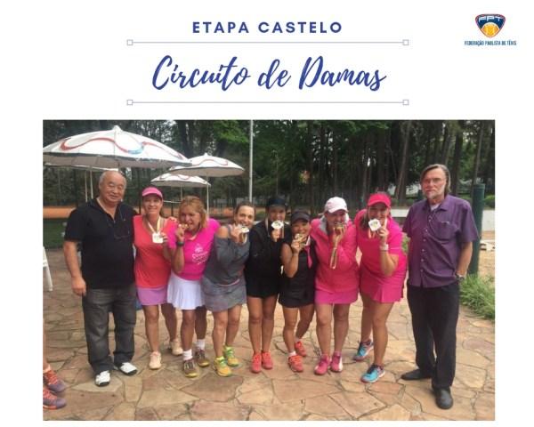 CIRCUITO DE DAMAS - CLUBE DE CAMPO CASTELO
