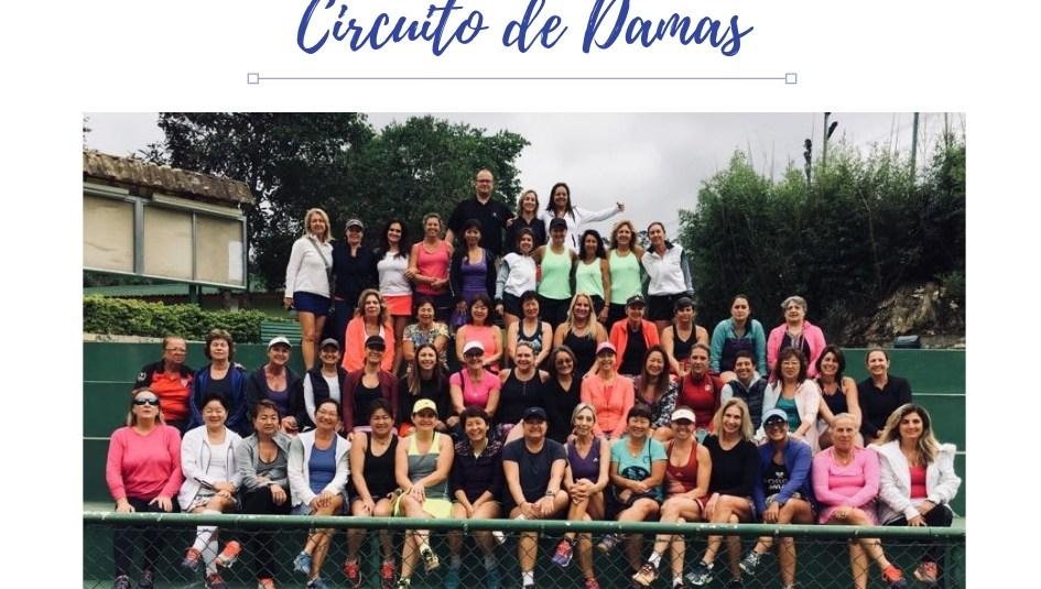 CIRCUITO DE DAMAS NO JARAGUÁ
