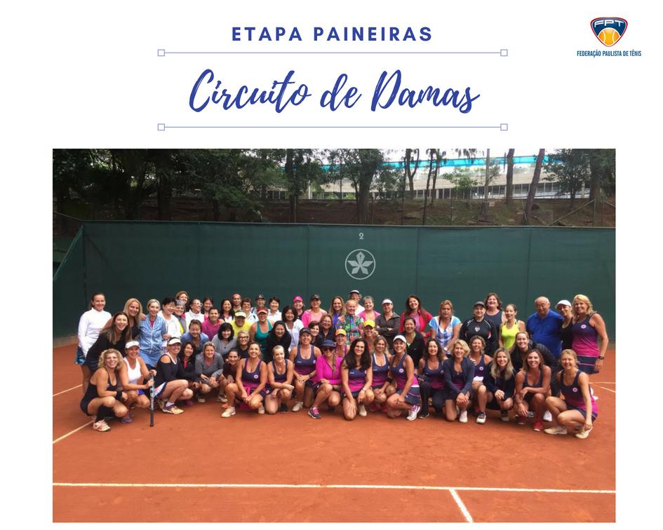 PAINEIRAS RECEBE ETAPA DO CIRCUITO DE DAMAS