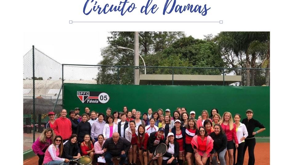 CIRCUITO DE DAMAS NO SÃO PAULO FUTEBOL CLUBE
