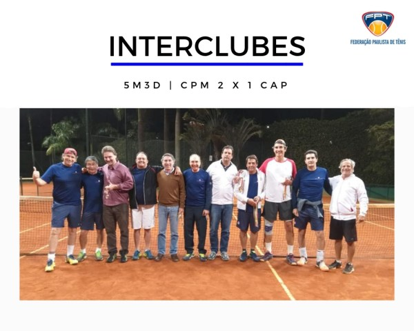 INTERCLUBES - FINAL 5M3D