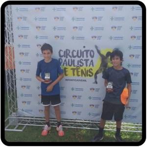 Circuito Paulista de Tênis - 1ª Etapa - 12M