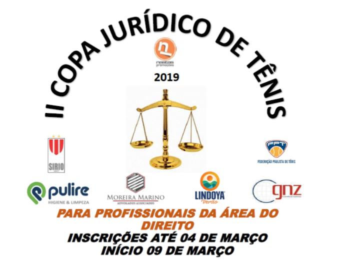II COPA JURÍDICO DE TÊNIS