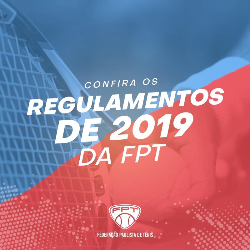 REGULAMENTOS FPT 2019