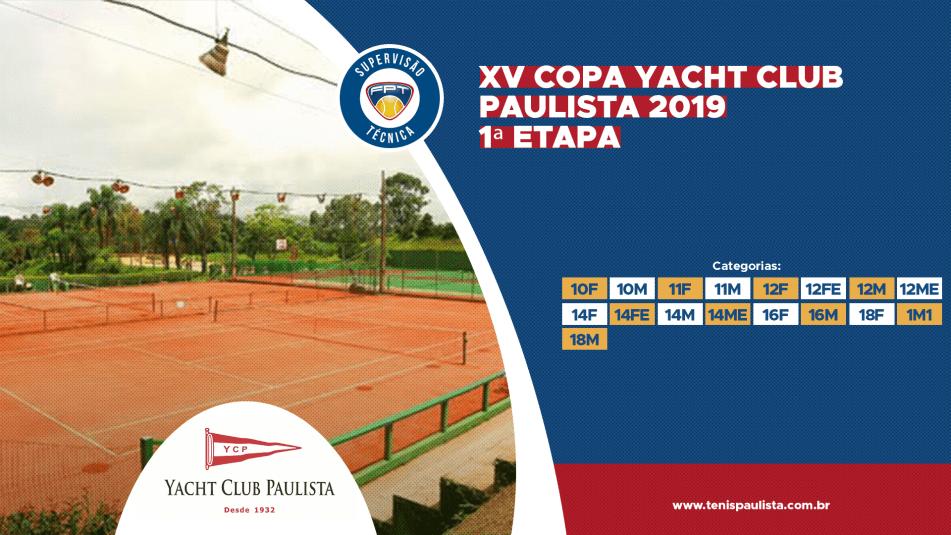 PROGRAMAÇÃO ATUALIZADA DA XV COPA YACHT CLUB PAULISTA 2019 – 1ª ETAPA