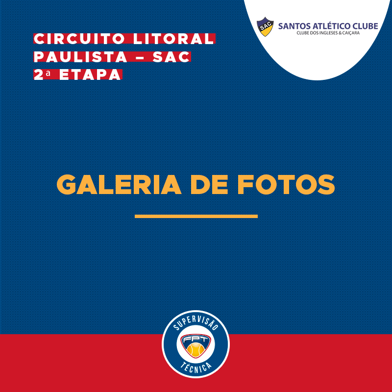 GALERIA DE FOTOS   CIRCUITO LITORAL PAULISTA – SAC – 2ª ETAPA