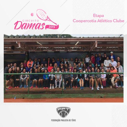 CIRCUITO DAMAS 2019 – ETAPA COOPERCOTIA ATLÉTICO CLUBE