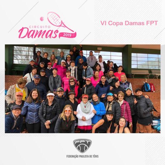 CIRCUITO DAMAS 2019 – VI COPA DAMAS FPT