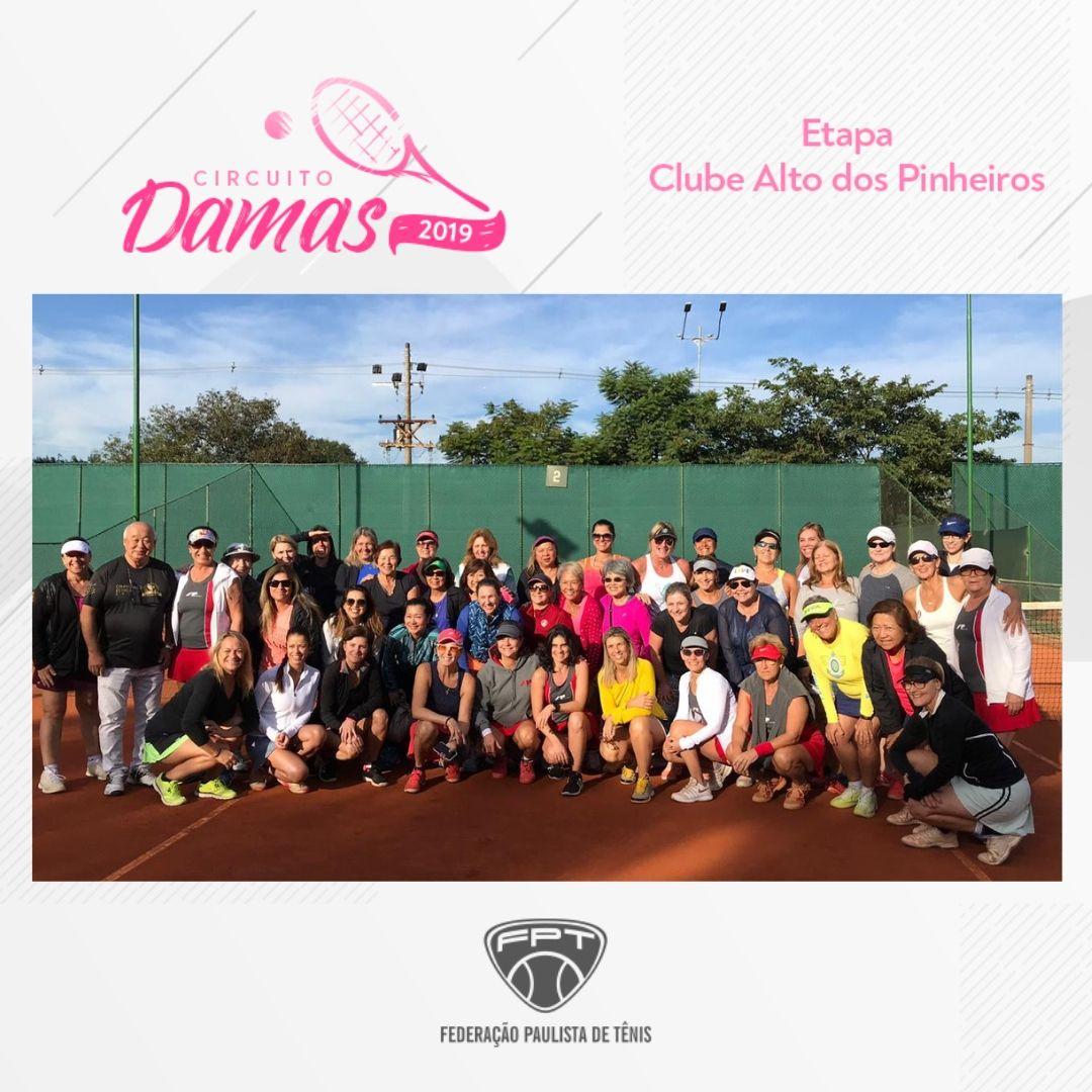 CIRCUITO DAMAS 2019 – ETAPA CLUBE ALTO DOS PINHEIROS