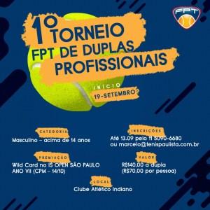 1º TORNEIO FPT DE DUPLAS PROFISSIONAIS