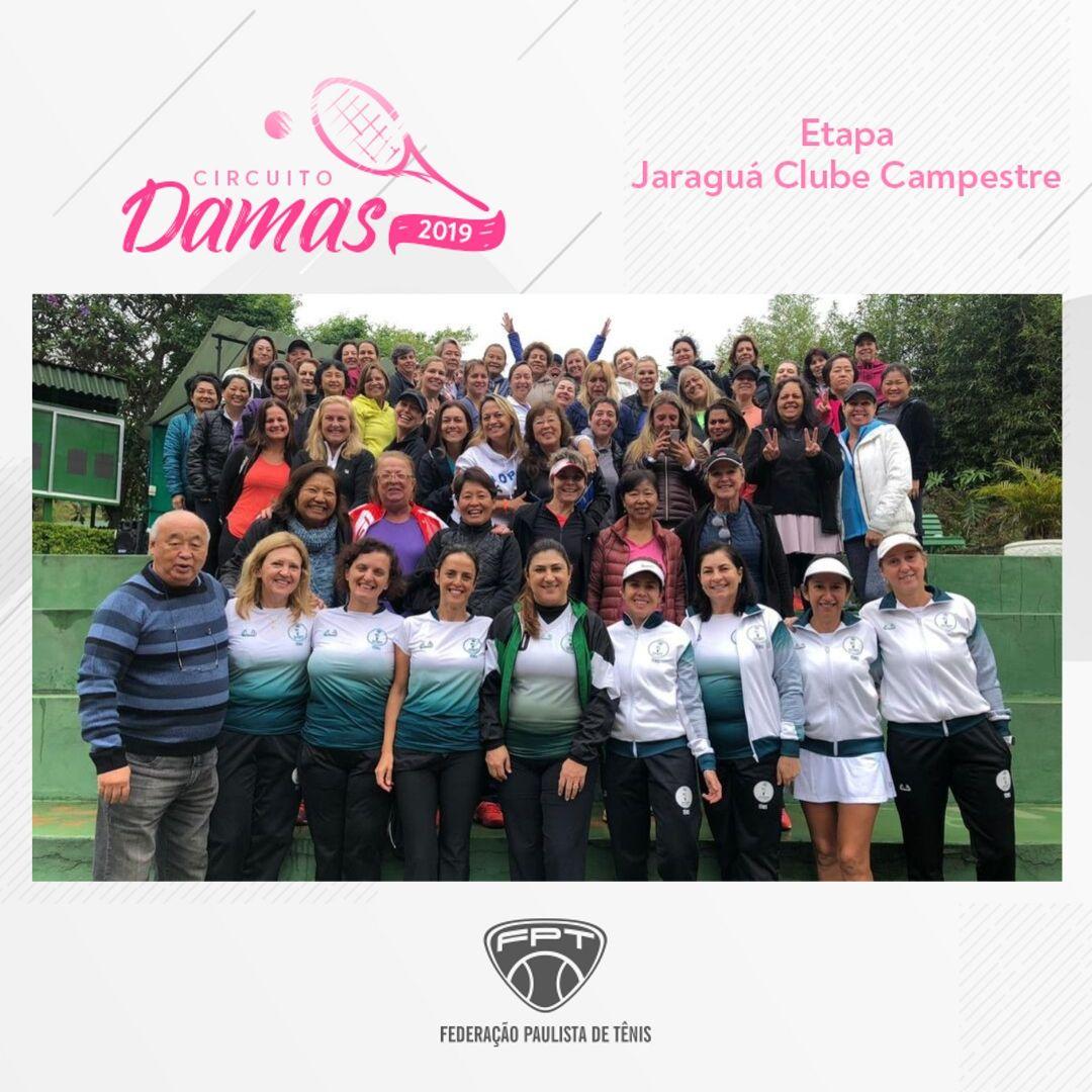 CIRCUITO DAMAS 2019 – ETAPA JARAGUÁ CLUBE CAMPESTRE