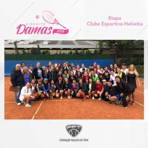 CIRCUITO DAMAS 2019 – ETAPA CLUBE ESPORTIVO HELVETIA