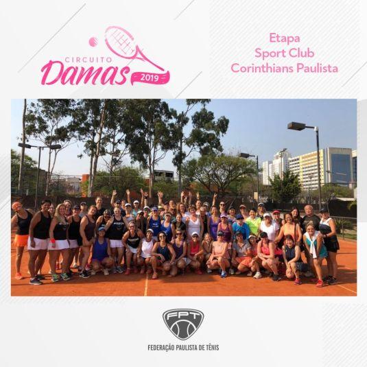 CIRCUITO DAMAS 2019 – ETAPA SPORT CLUB CORINTHIANS PAULISTA