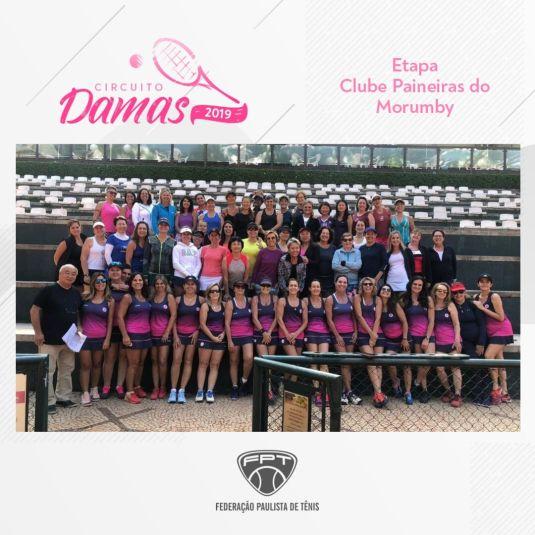 CIRCUITO DAMAS 2019 – ETAPA CLUBE PAINEIRAS DO MORUMBY