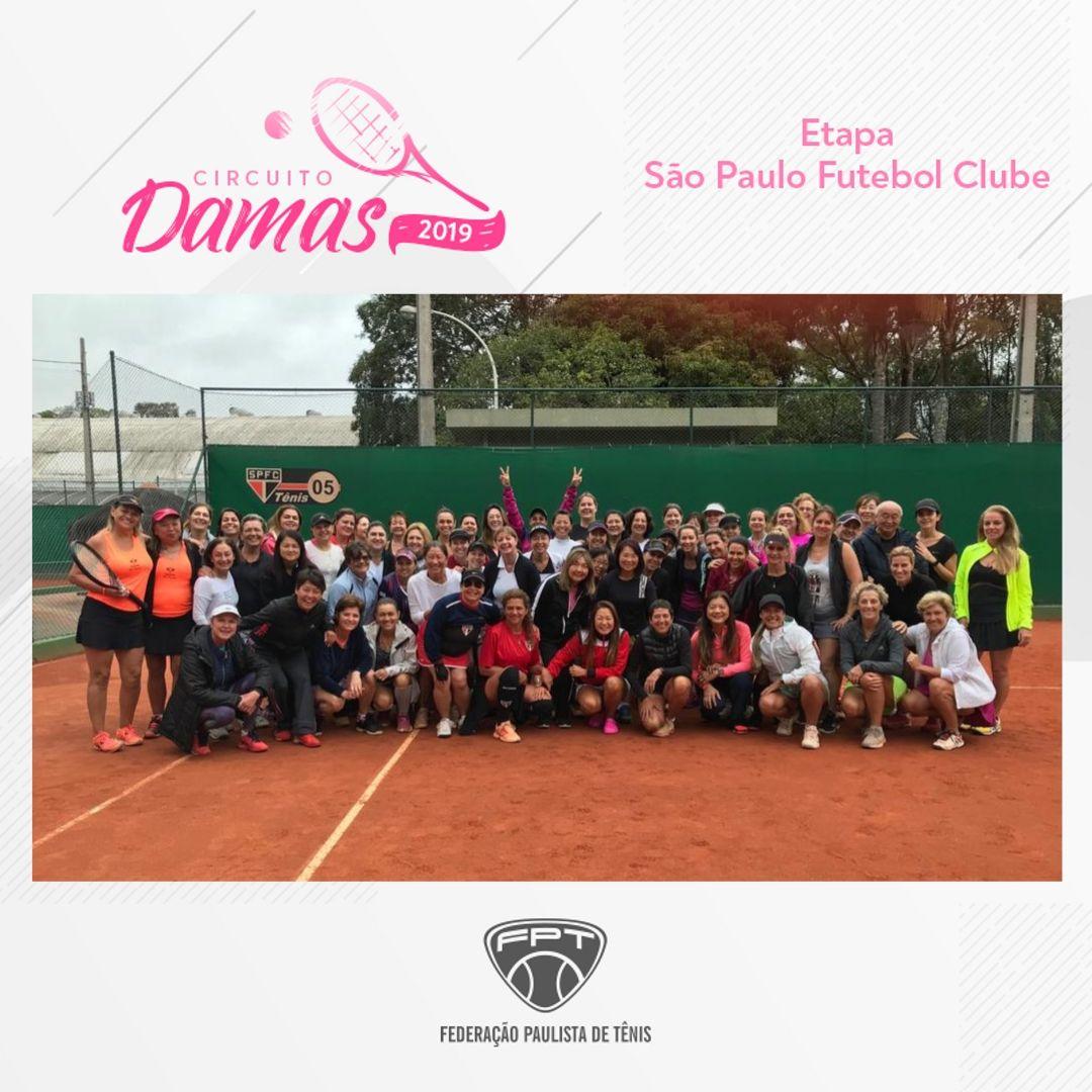 CIRCUITO DAMAS 2019 – ETAPA SÃO PAULO FUTEBOL CLUBE
