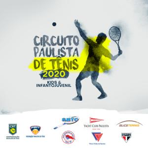 CIRCUITO PAULISTA DE TÊNIS 2020 – QUADRO DE HONRA 3ª ETAPA