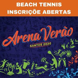 ARENA VERÃO 2020 – INSCRIÇÕES DO BEACH TENNIS