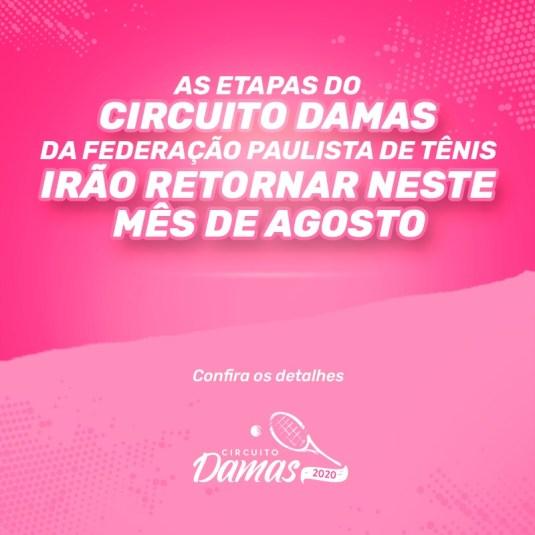 RETORNO DO CIRCUITO DAMAS