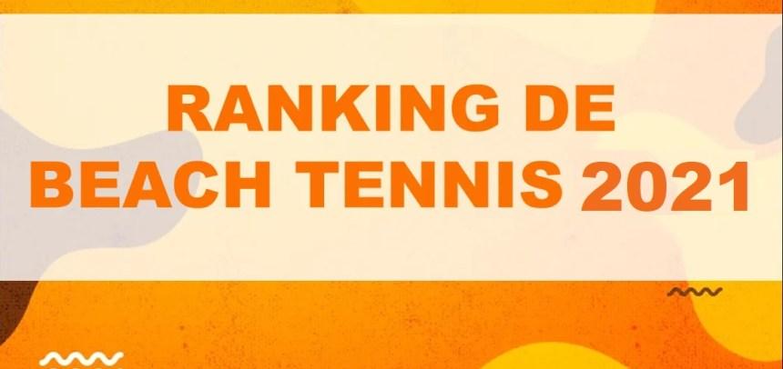 BEACH TENNIS – RANKING 2021