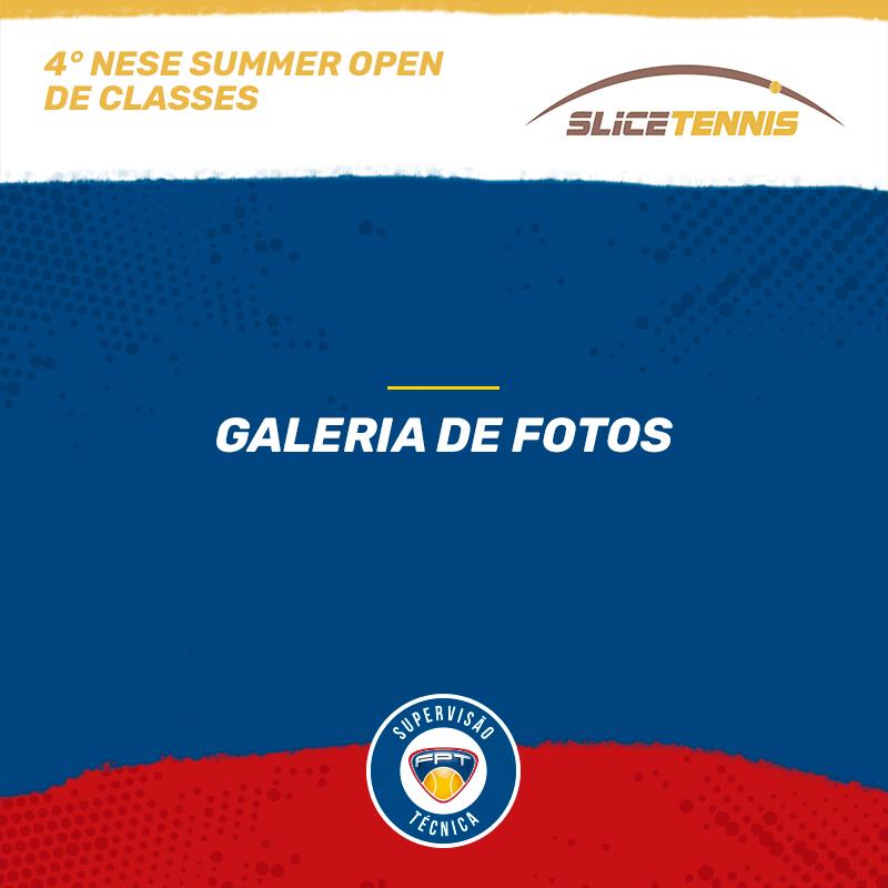 4º NESE SUMMER OPEN DE CLASSES – QUADRO DE HONRA E GALERIA DE FOTOS