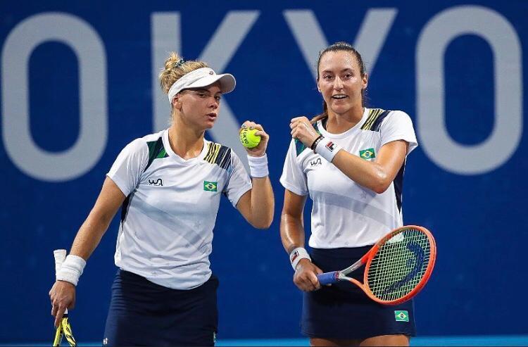 Dupla feminina do Brasil é derrotada nas semifinais em Tóquio