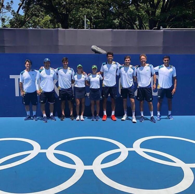 Tênis estreia hoje nas Olimpíadas; confira os brasileiros em ação