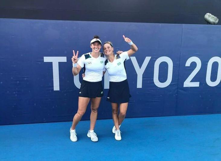 Luisa Stefani e Laura Pigossi batem americanas e estão na semi-final