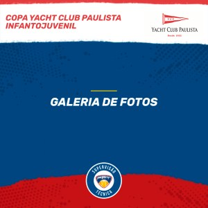 Quadro de Honras – Copa Yacht Club Paulista Infantojuvenil
