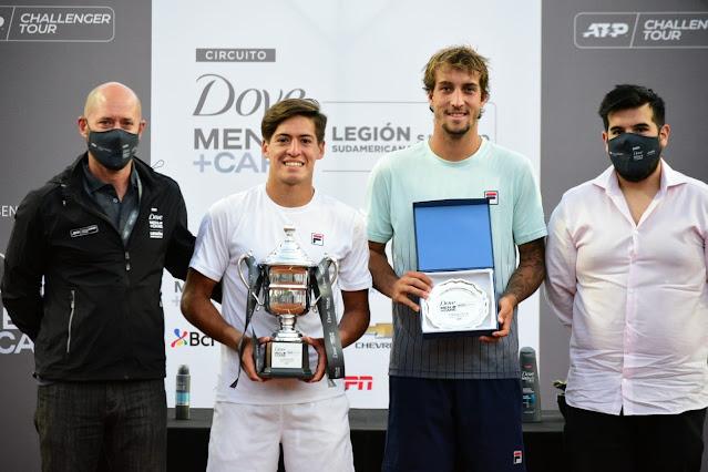 Felipe Meligeni é derrotado na final do Challenger de Santiago
