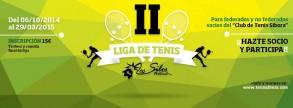 II Liga Los Silos Natural del CT Sibora, para socios, inscribete y participa.