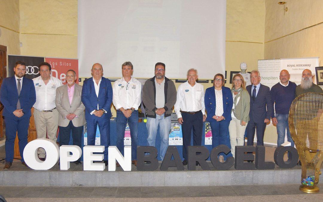 PRESENTACIÓN VII OPEN BARCELO LOS SILOS NATURAL 2019