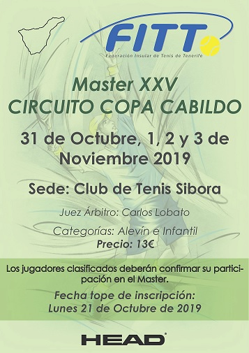 MASTER XXV CIRCUITO COPA CABILDO
