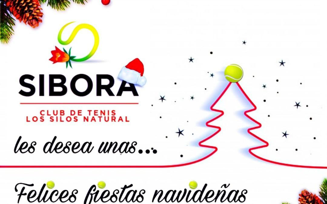 El Club de Tenis Sibora, les desea unas Felices Fiestas
