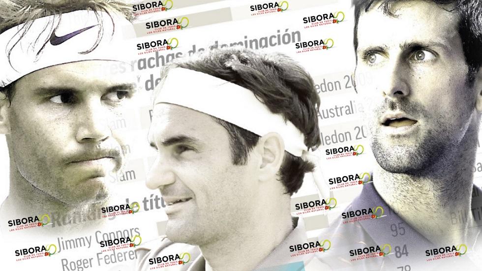 La tiranía de Federer, Nadal y Djokovic: sigue la carrera por ser el mejor